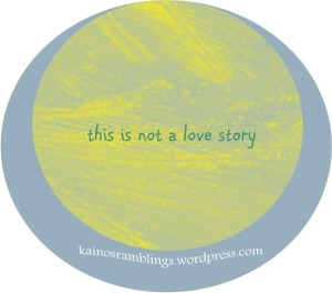 this is not a love story logo